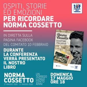 Cossetto, videoconferenza del Comitato 10 Febbraio