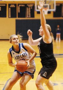 Lady Cats stay in the hunt for conference title with win over Austin