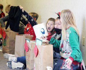 Community helps Christmas at HWES feel 'normal'