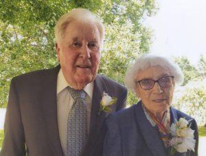 Mr. and Mrs. Howard Kline