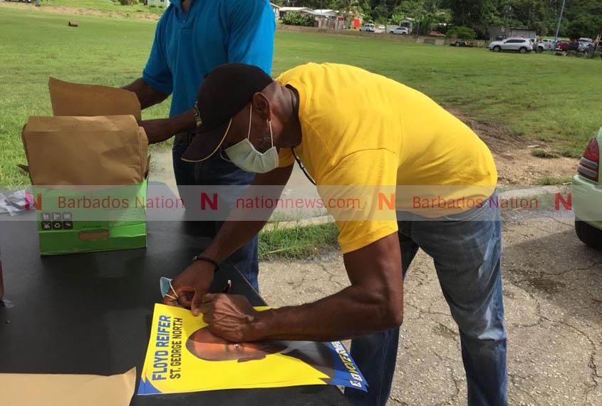 Reifer, Dems continue Mega Weekend in St George North