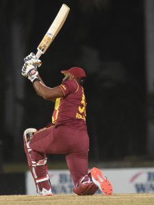 Pollard hits six sixes in an over and WI win after Dhananjaya's hat-trick