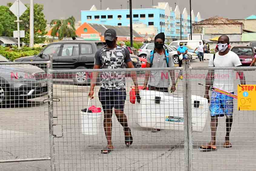 BARVEN, fish markets close early