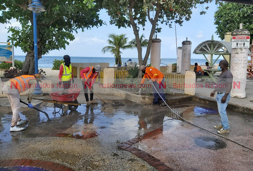 South and west coast beaches being cleaned