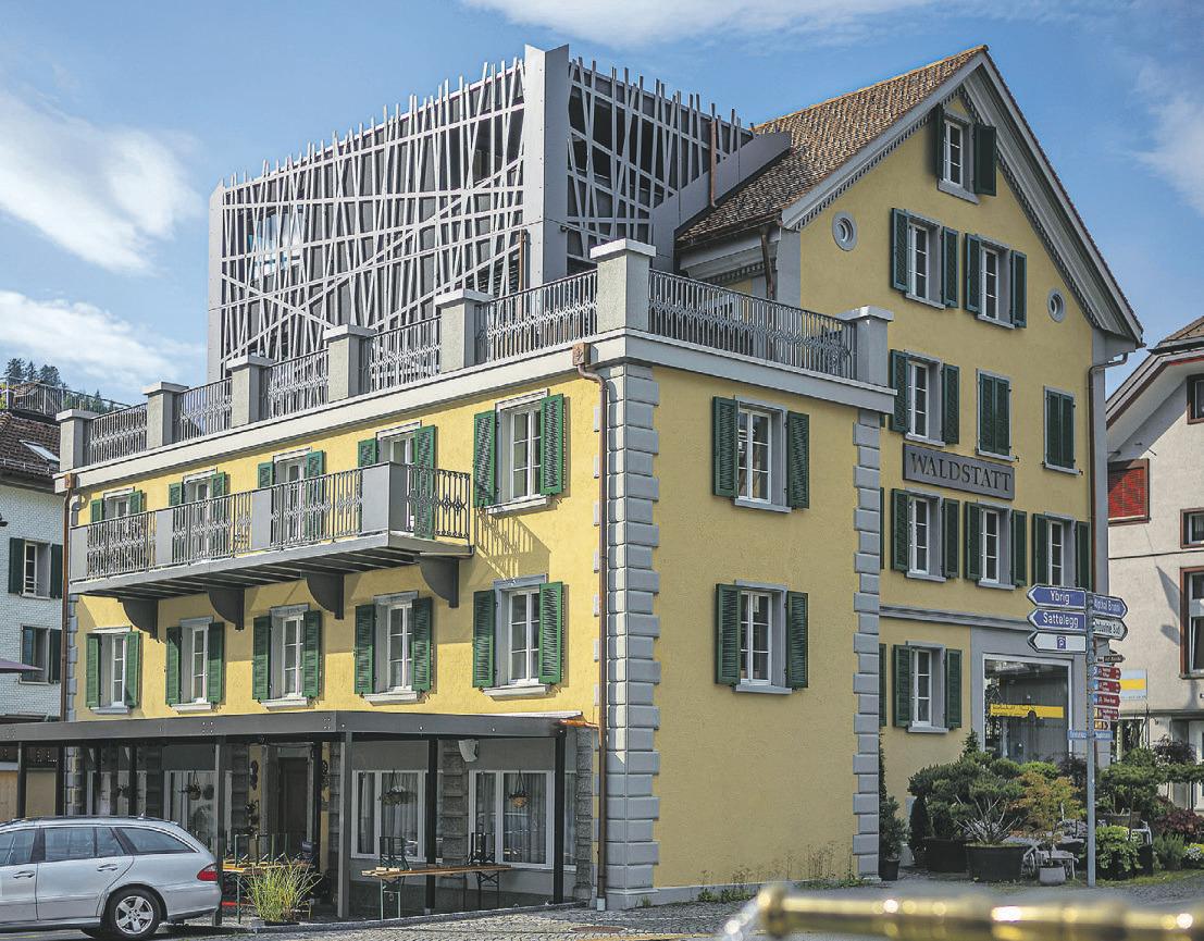 Das traditionsreiche Haus Waldstatt hat das neuste «Upgrade» erhalten.