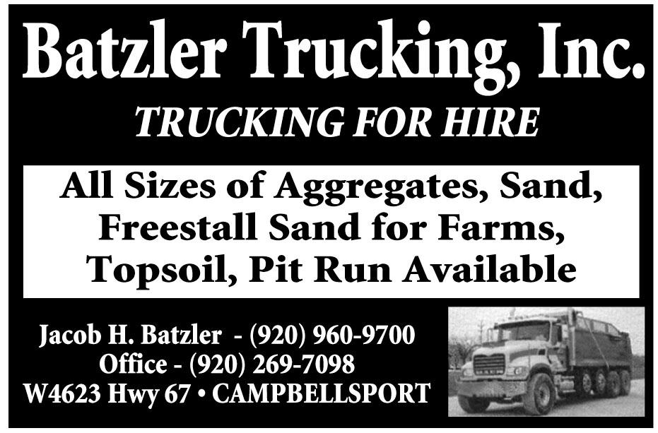 Batzler Trucking Inc