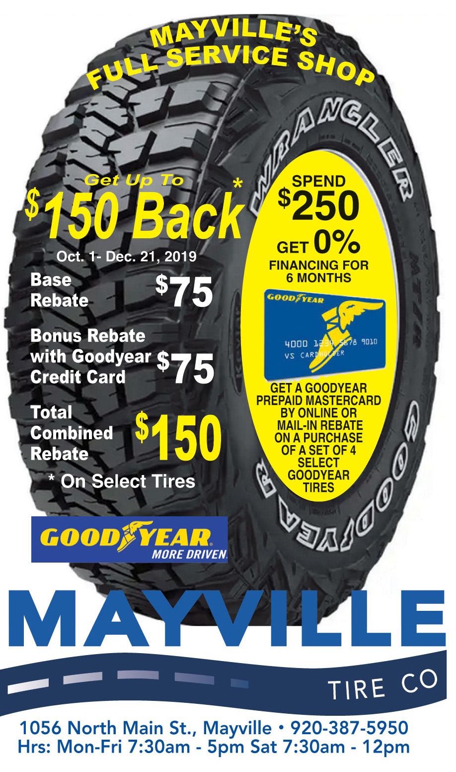 Mayville Tire Tire