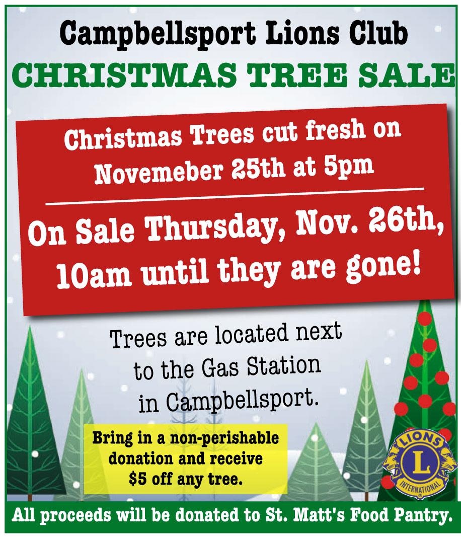 Campbellsport Lions Tree Sale