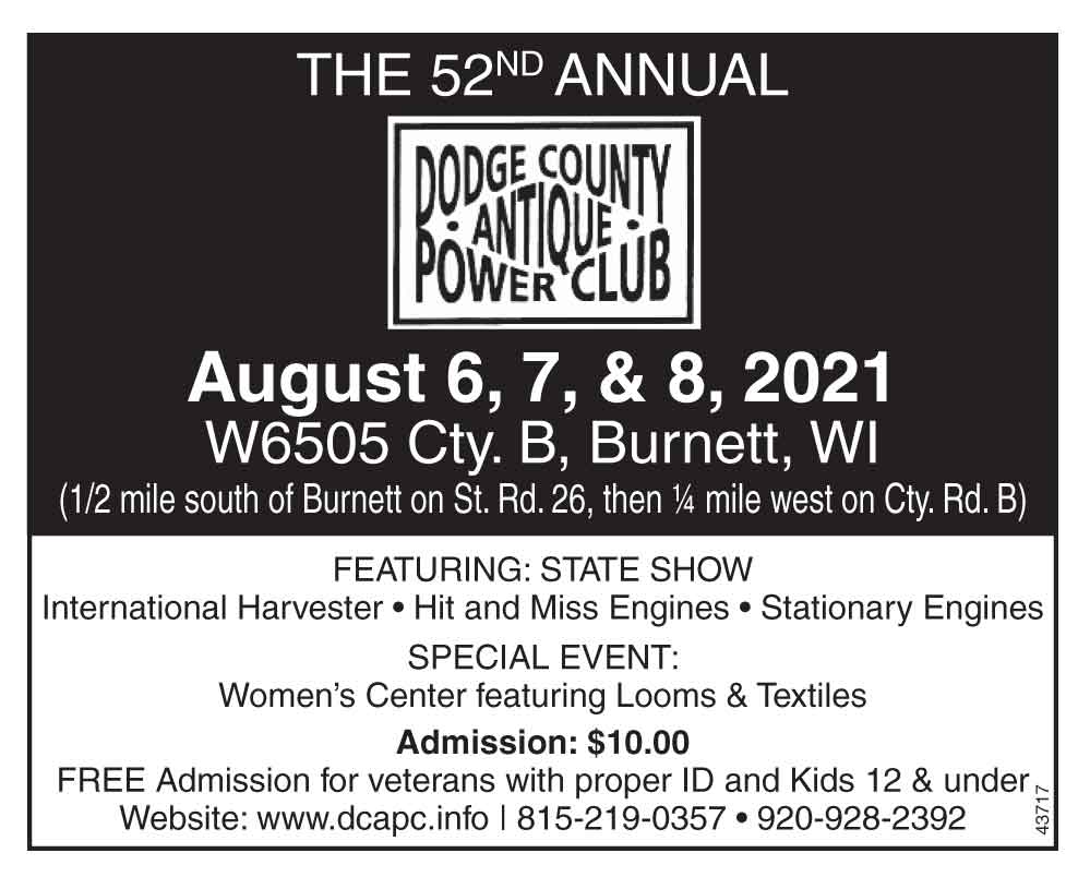 Dodge County Antique Power Club